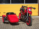 Ducati Hypermotard 1100 Schwenker mit Dog-side